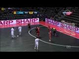 Чемпионат Европы по мини-футболу 2012. Россия - Сербия (1 тайм)